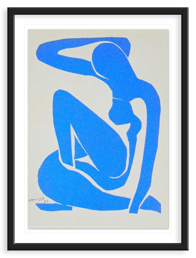 "Henri Matisse, ""Nude"", Lithograph 1952"