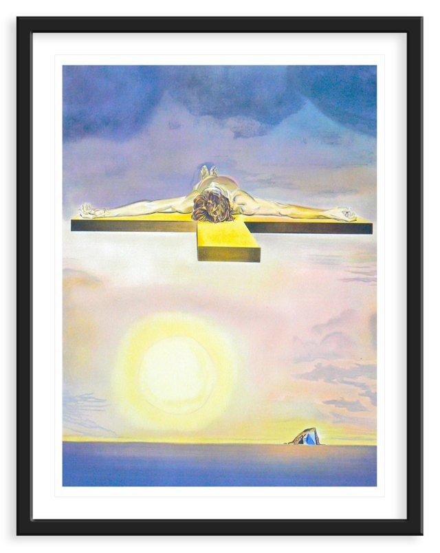 "Dali ""Christ of St. John on the Cross"""
