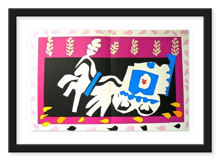 "Henri Matisse, ""Horse and Wagon"" 1937"
