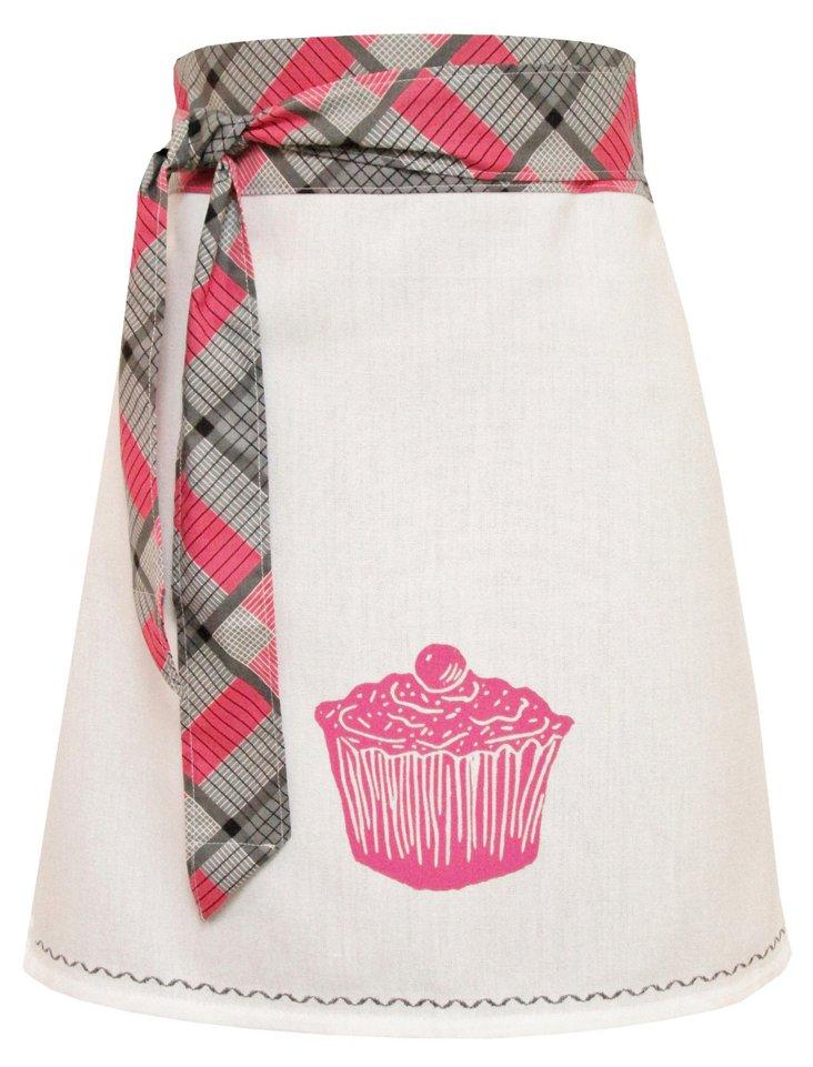 Organic Cupcake Apron, Pink