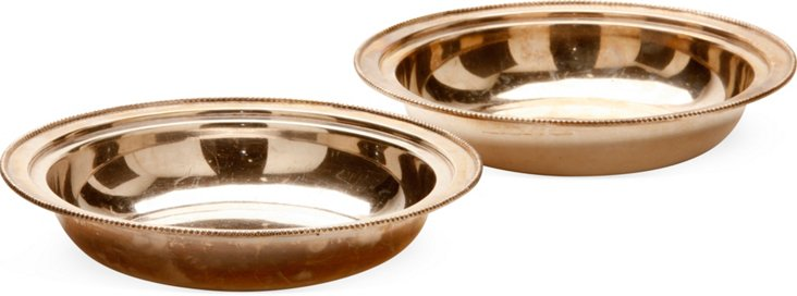 Indian Silver Bowls, Pair I