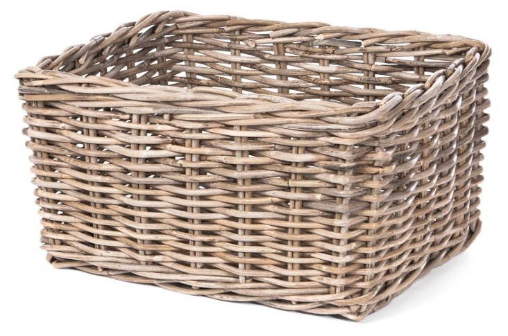 Rattan Storage Basket, Large