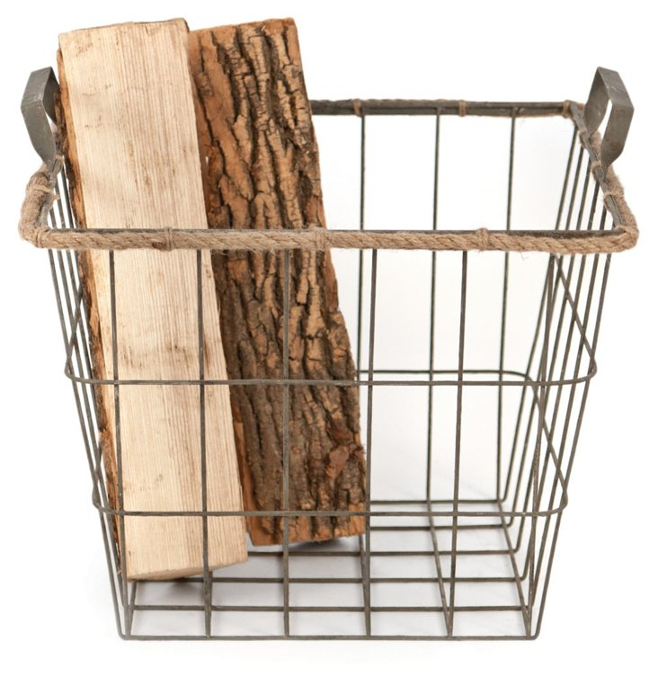 Square Wire Basket, Large