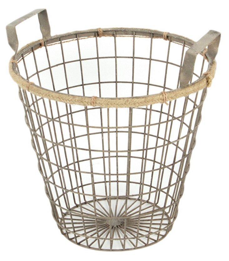 Round Wire Basket, Medium