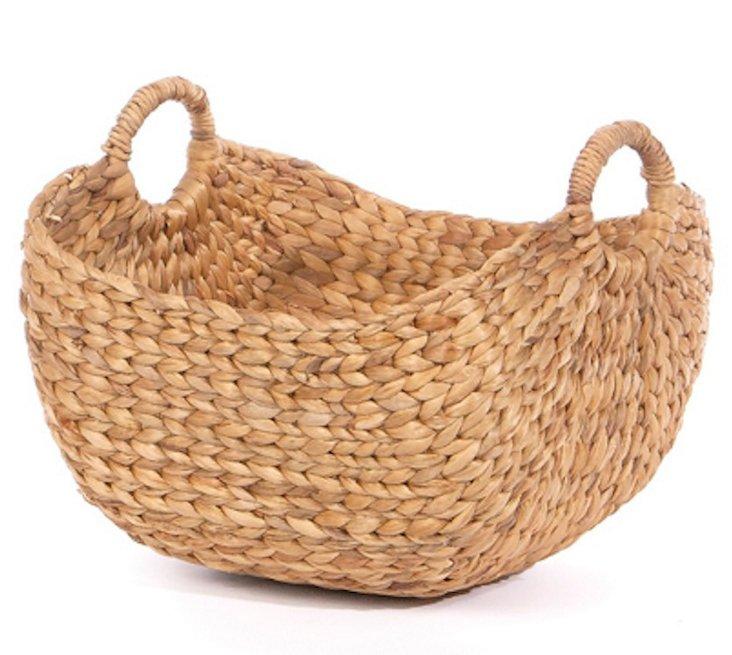 Hyacinth Oblong Basket