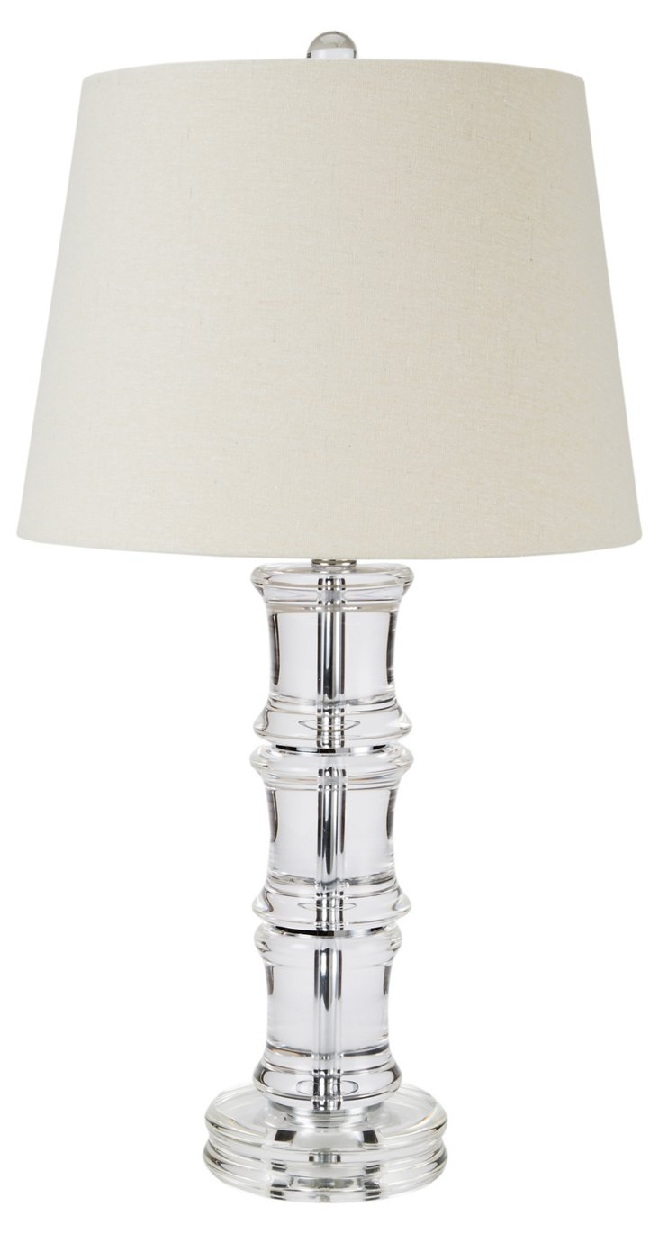 Westerly Crystal Lamp