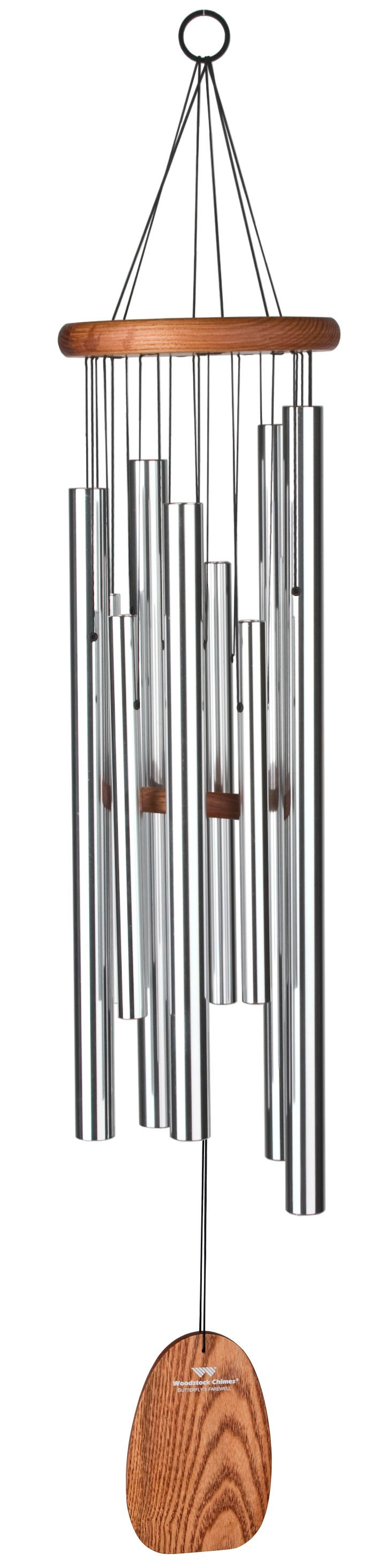 """39"""" Magical Mystery Chime, Silver"""