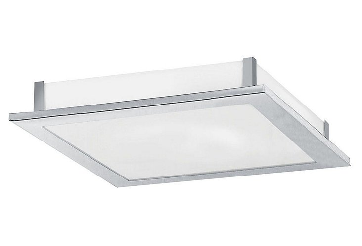 Alhambra Chrome Flush Mount, 15""