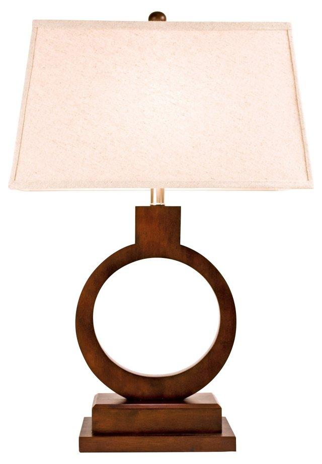 Monarch Table Lamp, Espresso