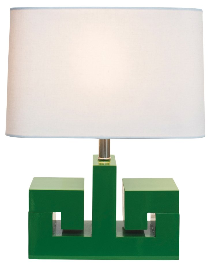 Athena Table Lamp, Green