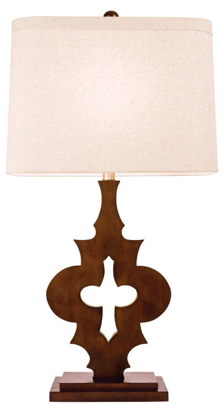 Marrakech Table Lamp, Espresso