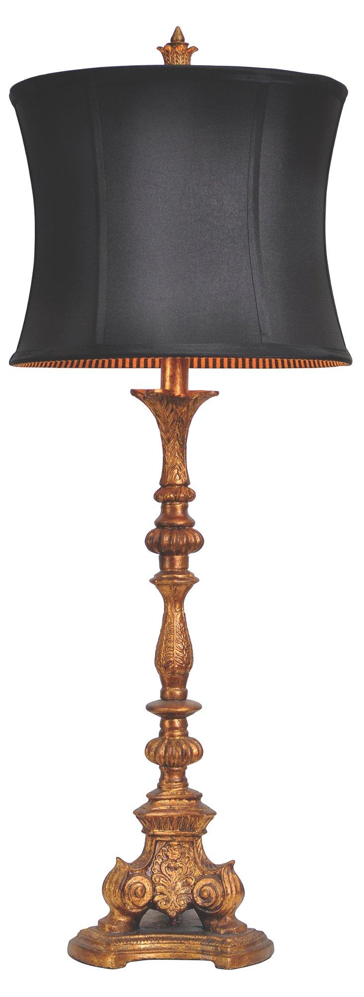 Etienne Table Lamp, Opulent Gold
