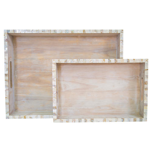 Largo Tray Set, Natural
