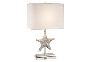 Bimini Table Lamp, Silver
