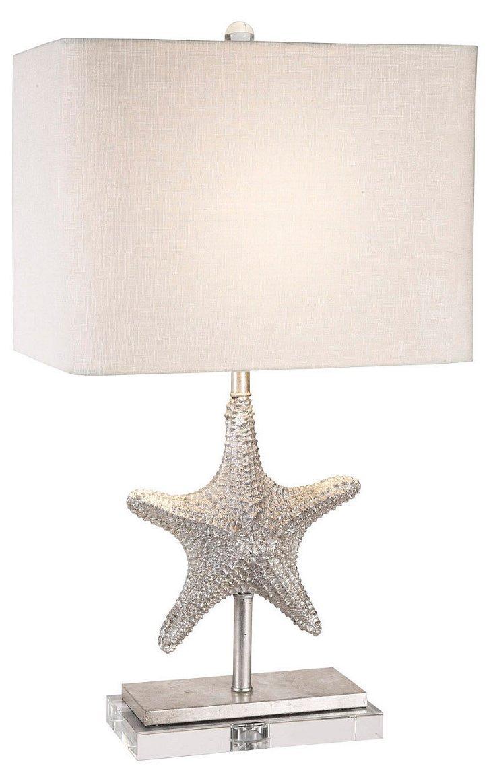 Bimini Table Lamp, Silver