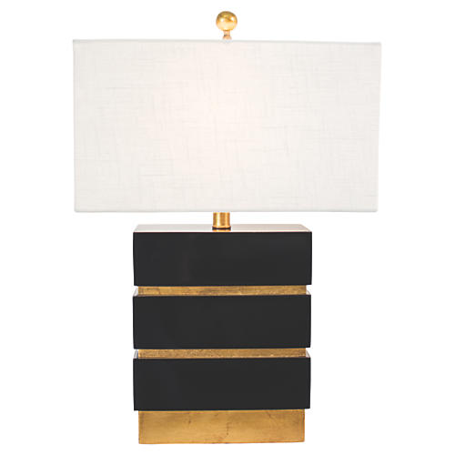 Simeon Table Lamp, Black
