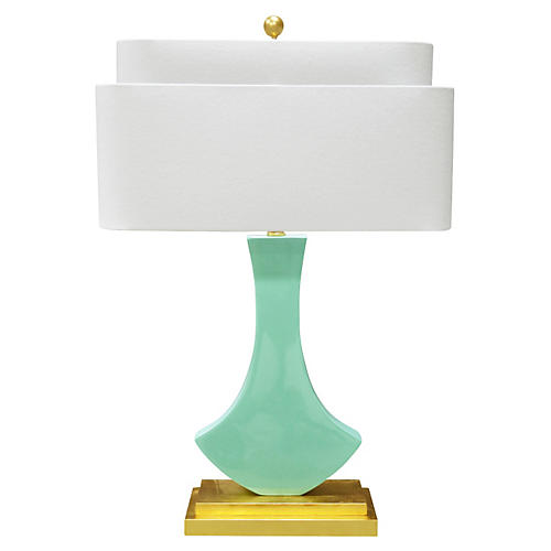 Bellara Table Lamp, Mint