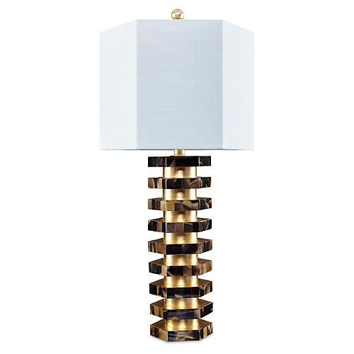 Persidio Table Lamp, Gold