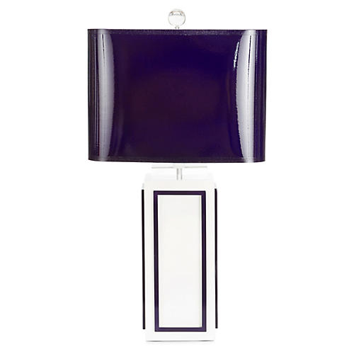 Lagos Table Lamp, Indigo