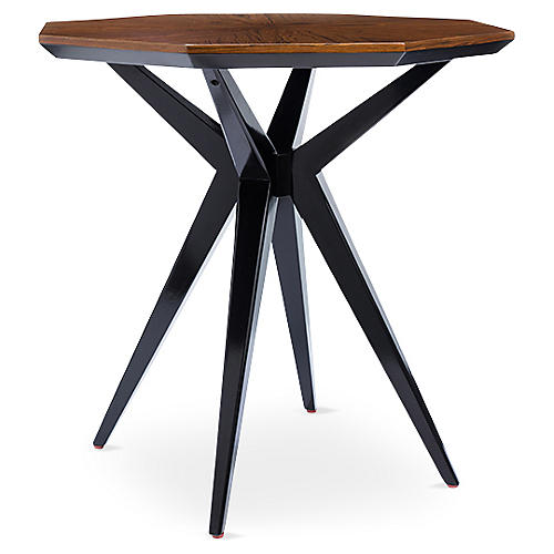 Starburst Side Table, Rosewood