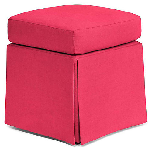 Russell Square Ottoman, Berry