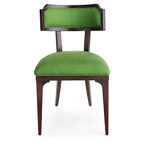 Worthington Side Chair, Green