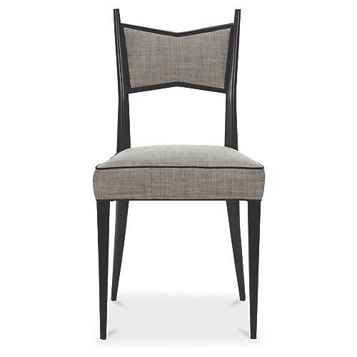 Georgia Side Chair, Coal