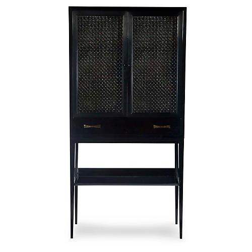 Calypso Bar Cabinet, Onyx