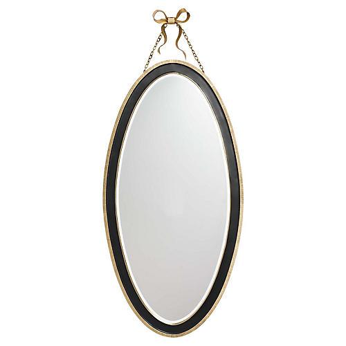 Ellery Wall Mirror, Black