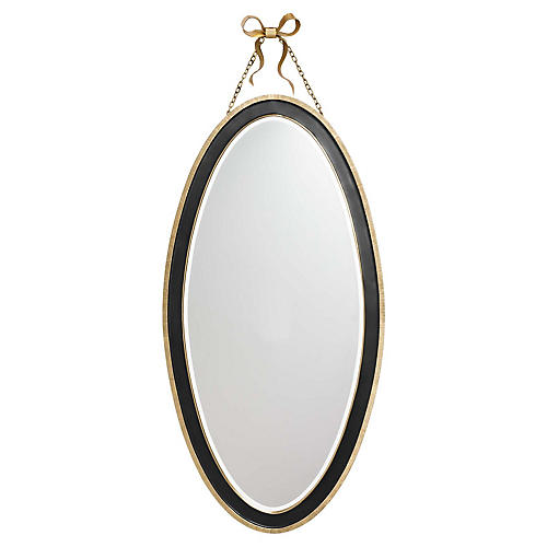 Ellery Wall Mirror, Black
