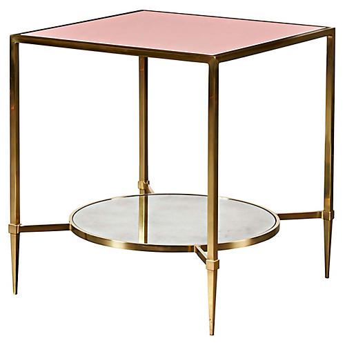 Duncan Side Table, Begonia