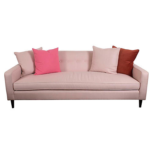 Grady Sofa, Powder Blush