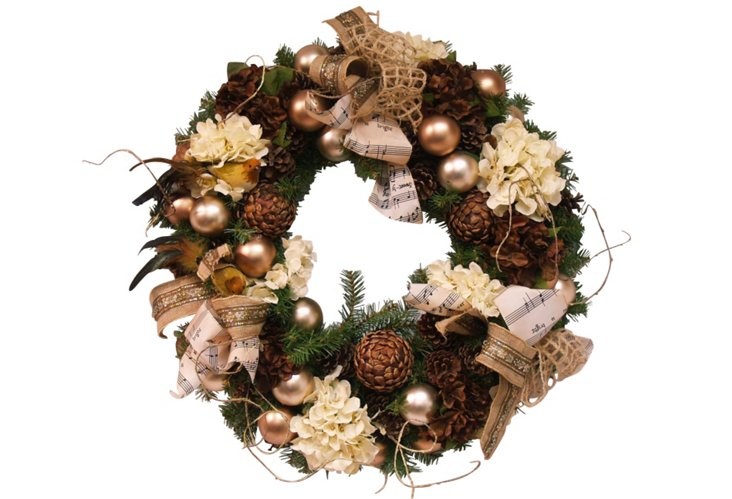 Country Music Wreath