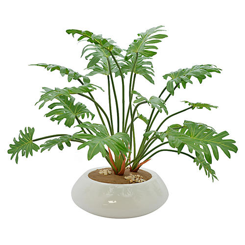 "25"" Philodendron Plant, Faux"