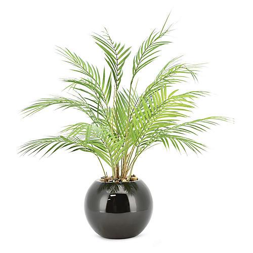 """30"""" Palm Plant, Faux"""