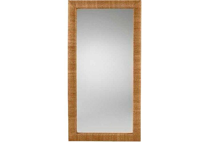 Driftwood Floor Mirror