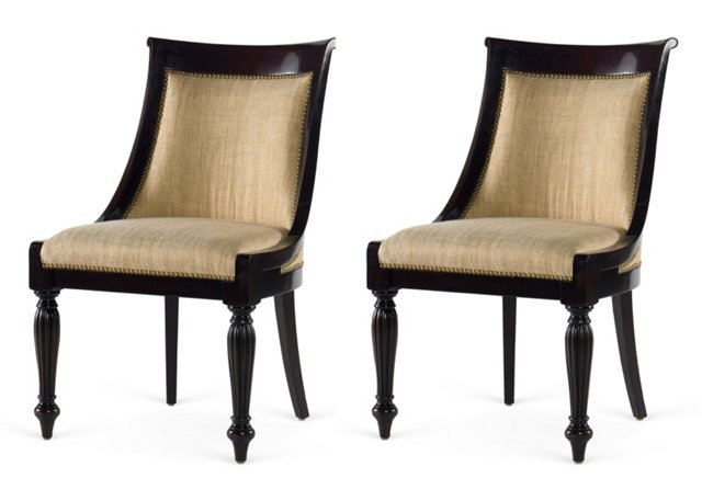 East Grand Dining Side Chair, Pair