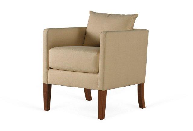 Desert Modern Chair, Beige