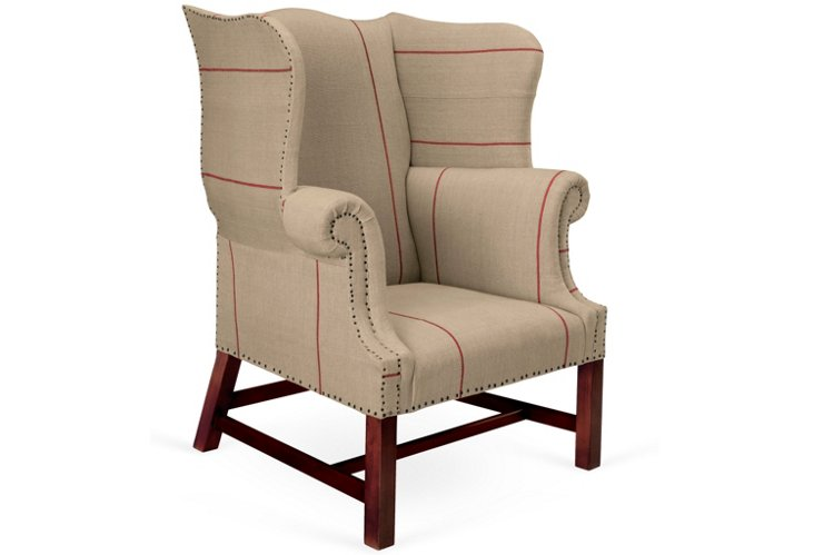 Hudson River Valley Wing Chair