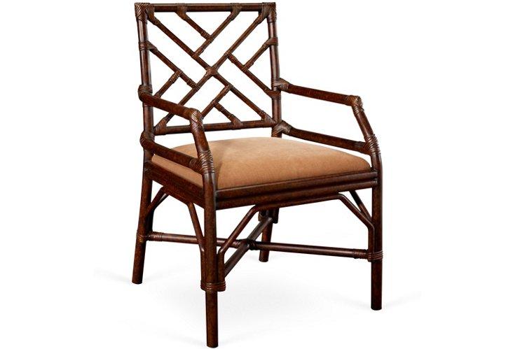 Arles Chinoiserie Desk Chair