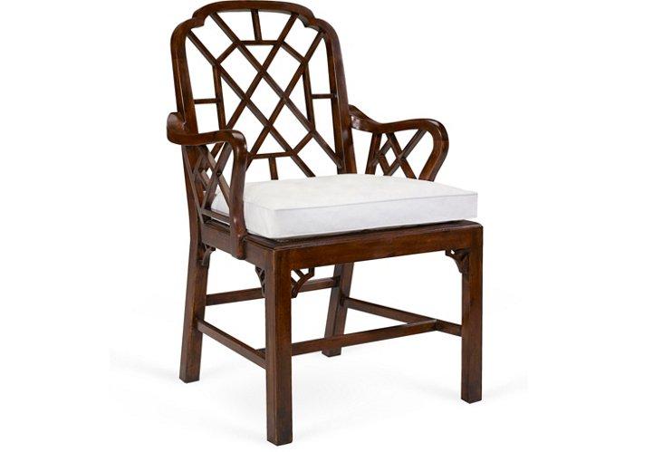 Middlesex Latticeback Arm Chair