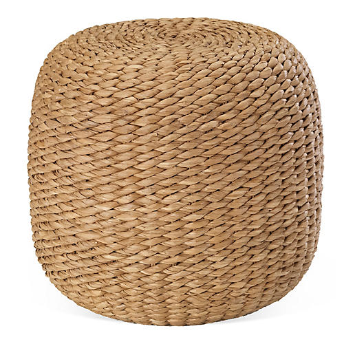 Desert Modern Woven End Table
