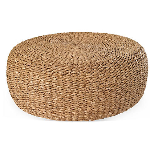 Desert Modern Woven Cocktail Table