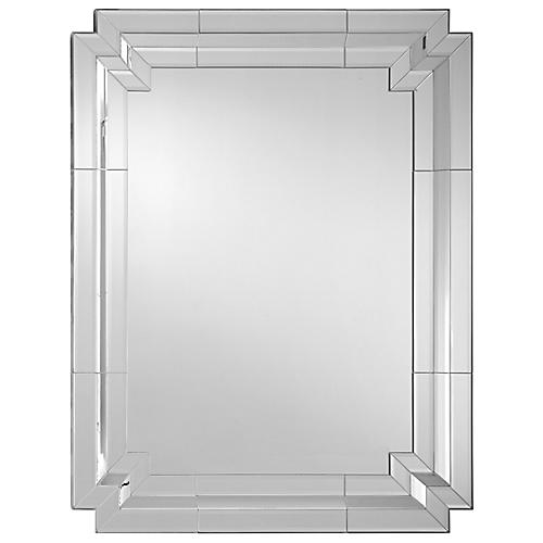 Venetian Oversize Wall Mirror, Clear