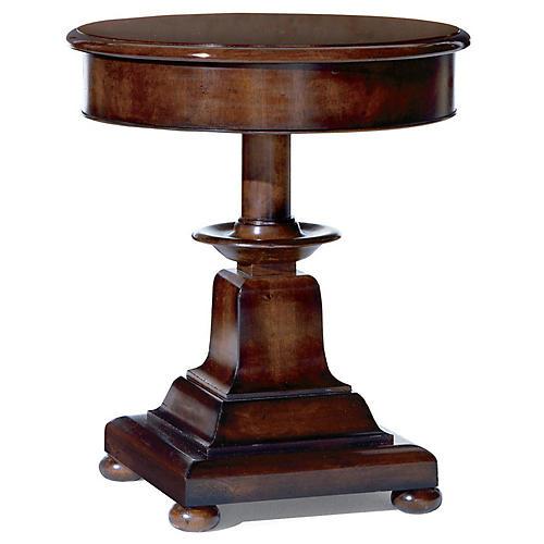 Anglesey Side Table, Beekman Mahogany