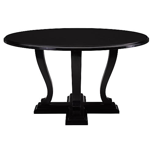 Basalt Hall Table, One-Fifth Black