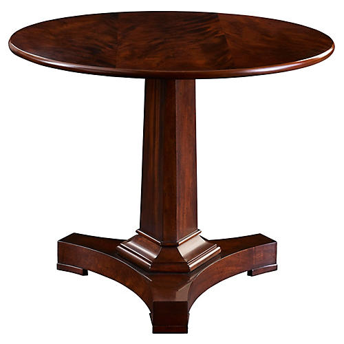 Bryce Side Table, Medium Mahogany