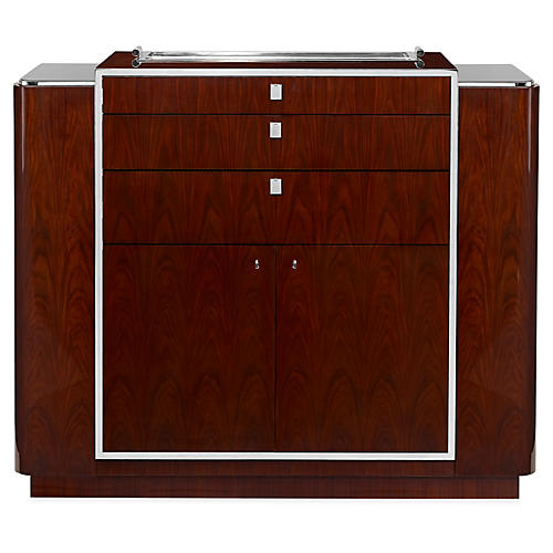 Duke Bar Cabinet, Penthouse Rosewood