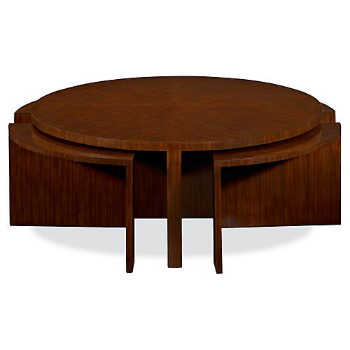 Duke Coffee Table, Penthouse Rosewood