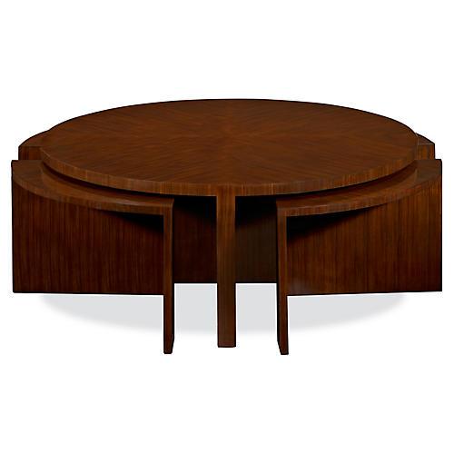 Duke Coffee Table, Penthouse Rosewood